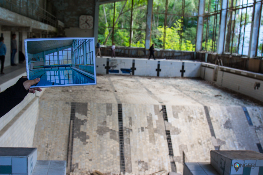 binnenzwembad Pripyat