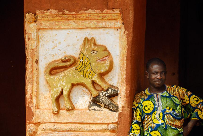 Abomey - het paleis van de Dahomey koningen