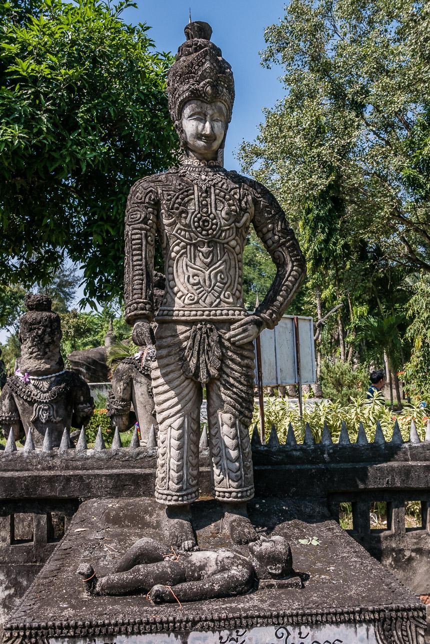 Beeldenpark Nong Khai - je geboorte