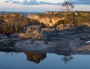 Chapada Diamantina: het uitzicht vanaf Morro do Pai Inácio