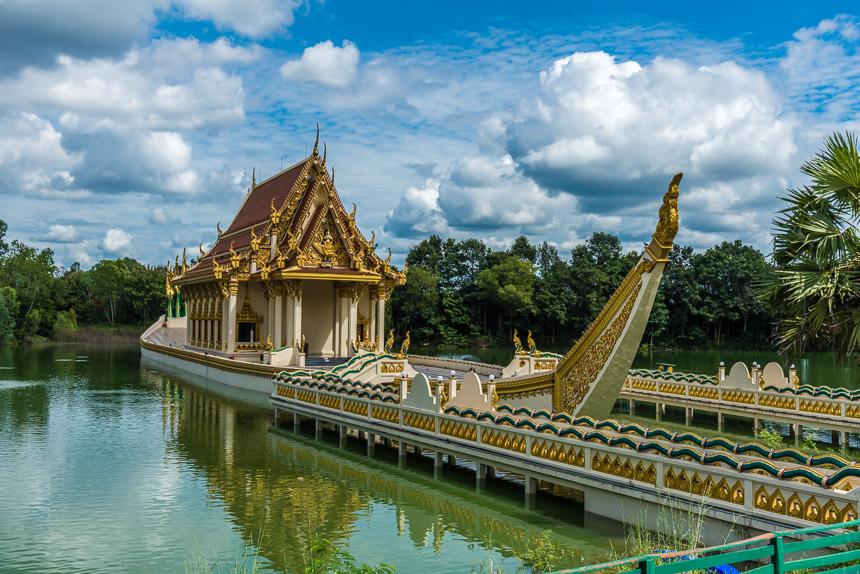 De Wihan van Wat Ban Na Muang in Ubon Ratchatani