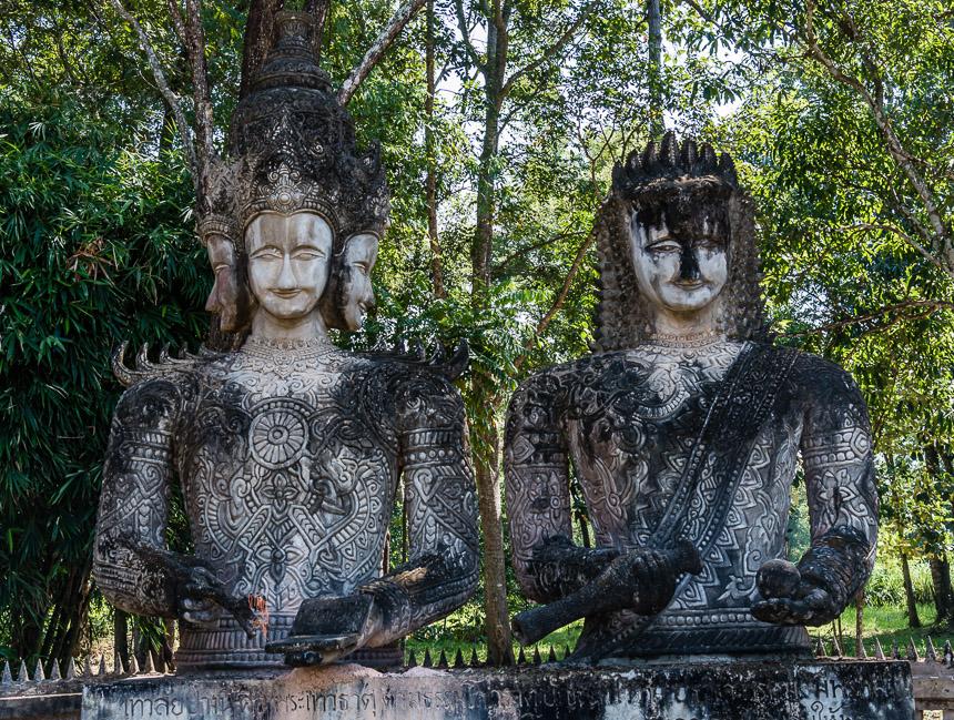 Kennis, begrip en wijsheid in de beeldentuin van Nong Khai