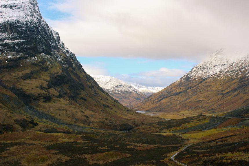 Glen Coe in de Schotse Hooglanden