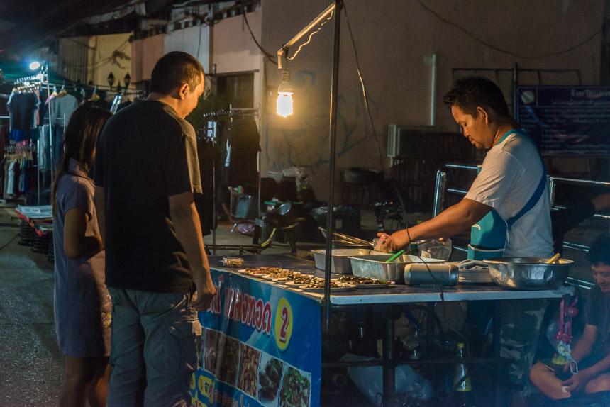 Nachtmarkt Nakhon Phanom