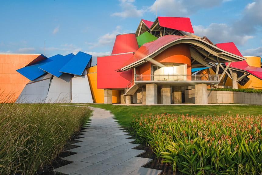 Museum van de biodiversiviteit - Frank Gehry - in Albrook Panama