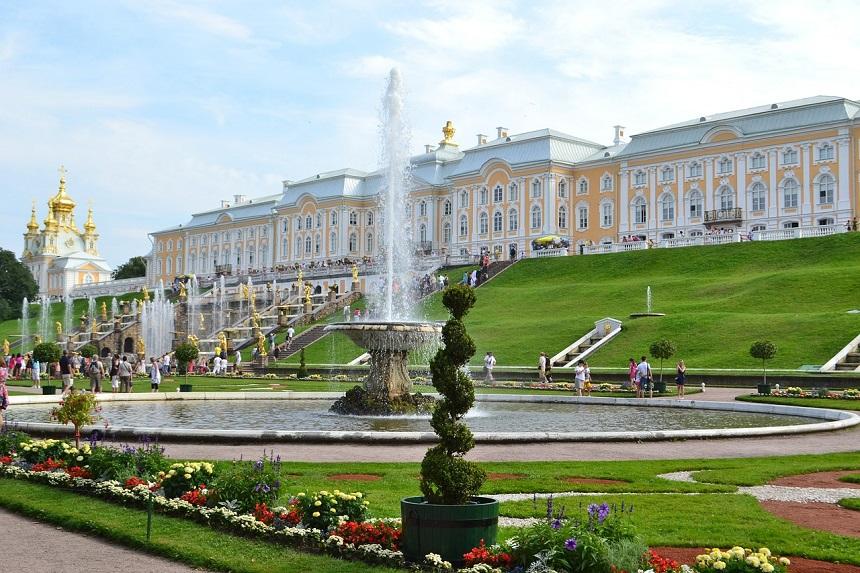 Peterhof - Tsaren en kathedralen