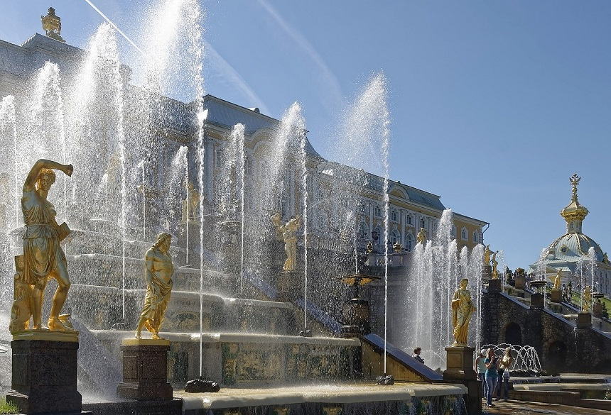 Peterhof in Sint Petersburg