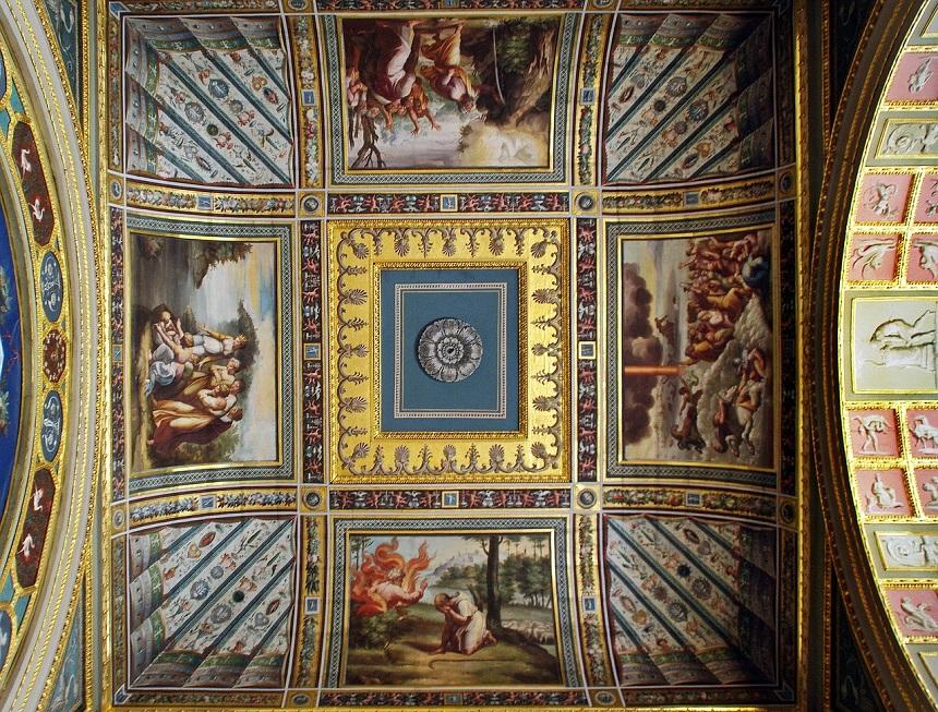 Plafond Hermitage
