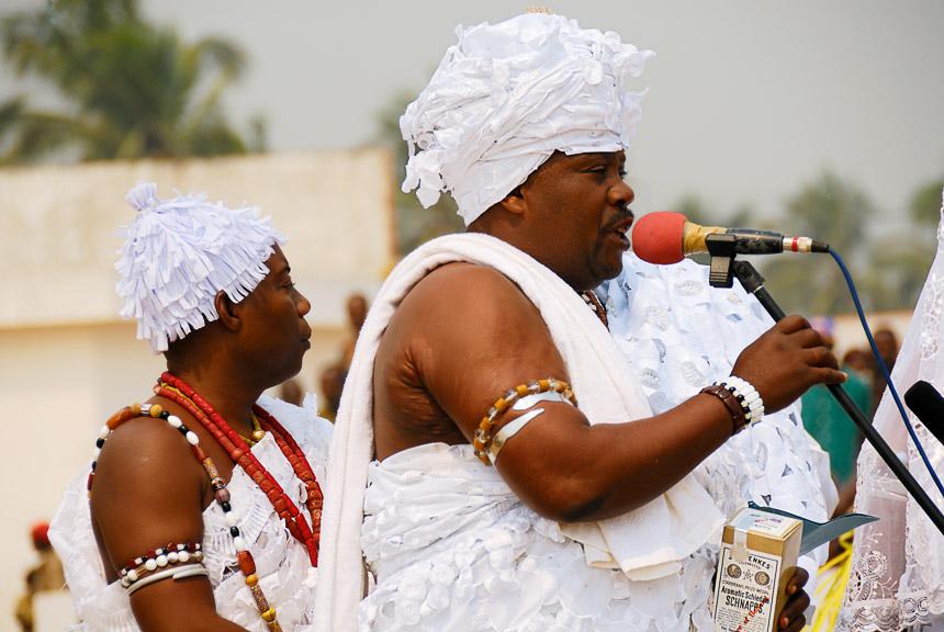 Voodoo-festival in Ouidah