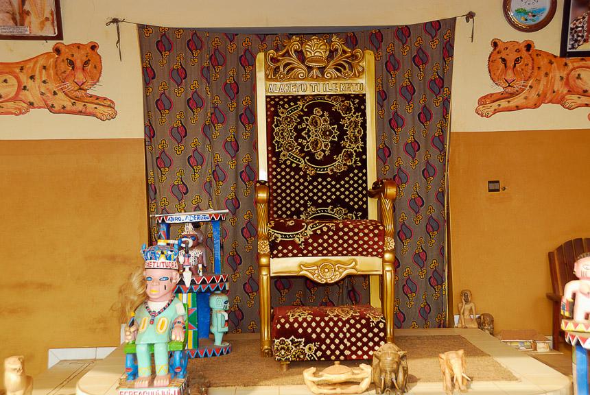 Troon van de koning van Ketou