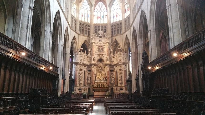 Interieur Cathédrale Saint-Étienne de Toulouse