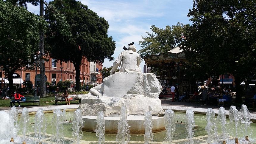 Standbeeld Place Wilson