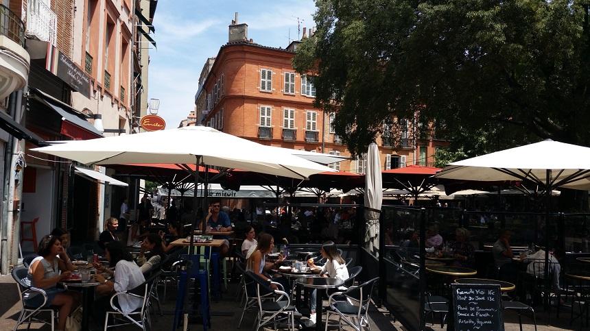 Gezellige terrassen in de binnenstad