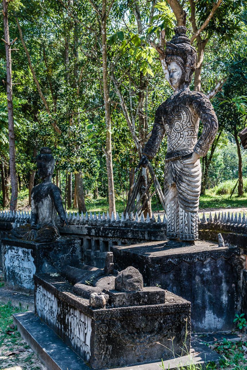 De dood in de beeldentuin van Nong Khai