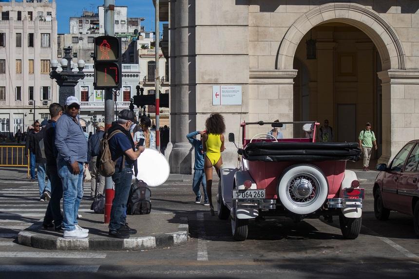 Fotoshoot in Havana
