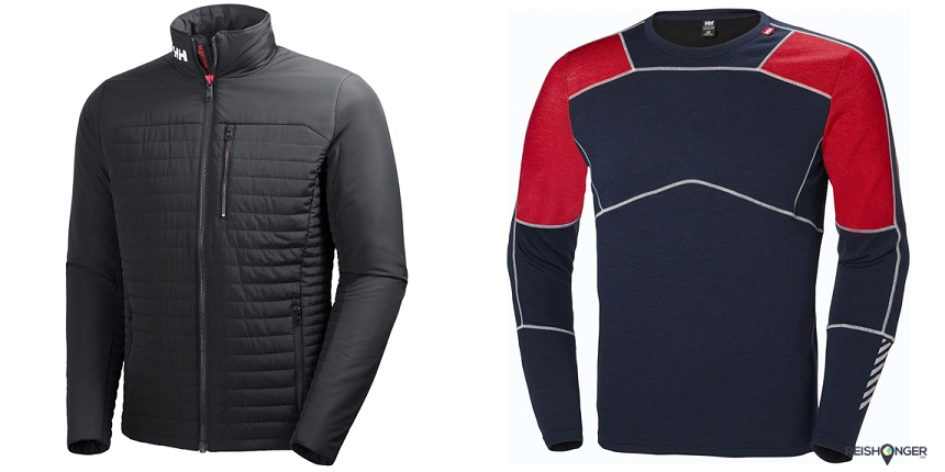 Helly Hansen Crew Insulator Jacket met isolerende baselayers