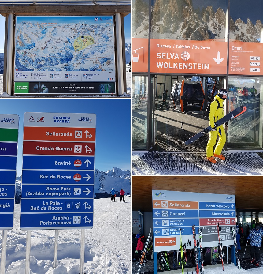 sella ronda skitour
