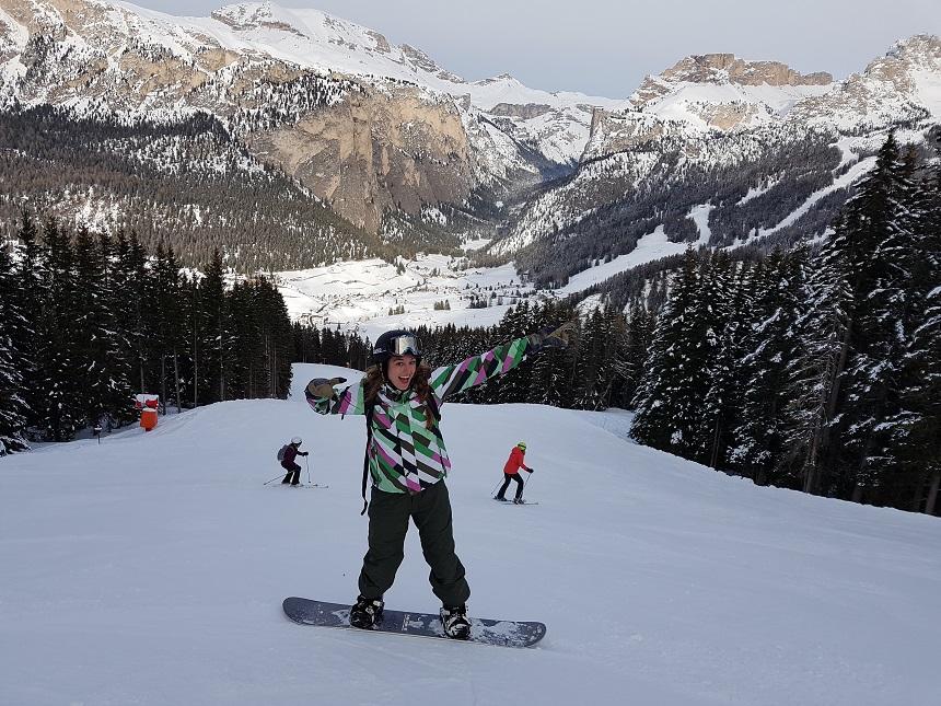 sellaronda snowboard