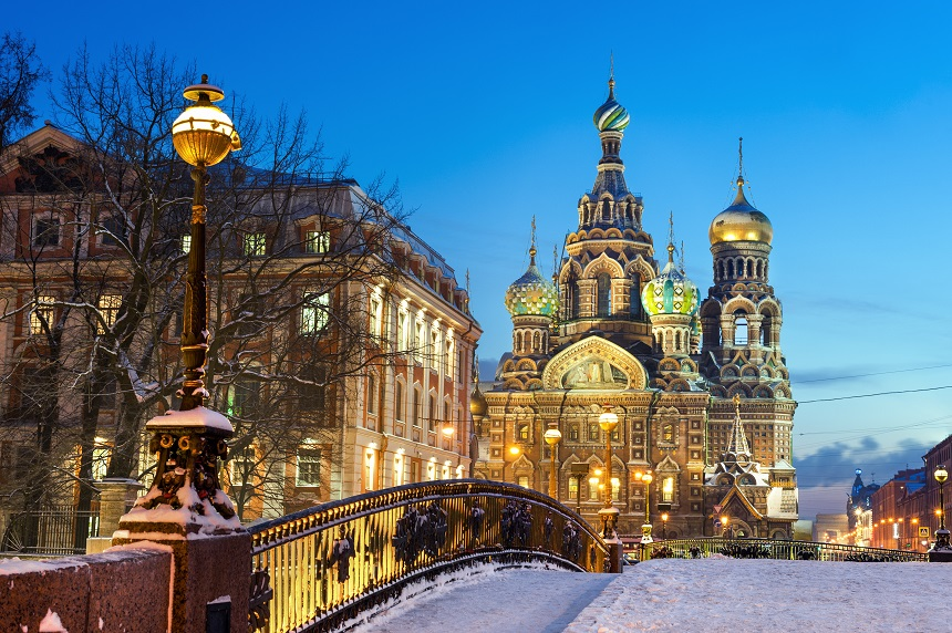 Opstandingskerk Sint Petersburg