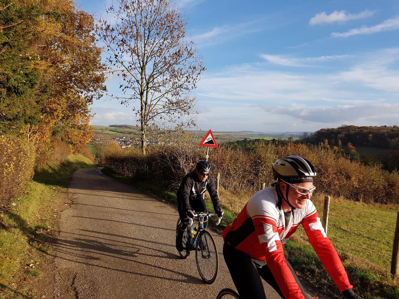 Trainen voor de Amstel Gold Race