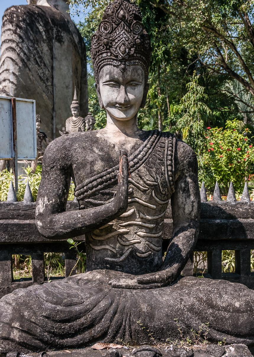 Beeldenpark Nong Khai - zintuigen