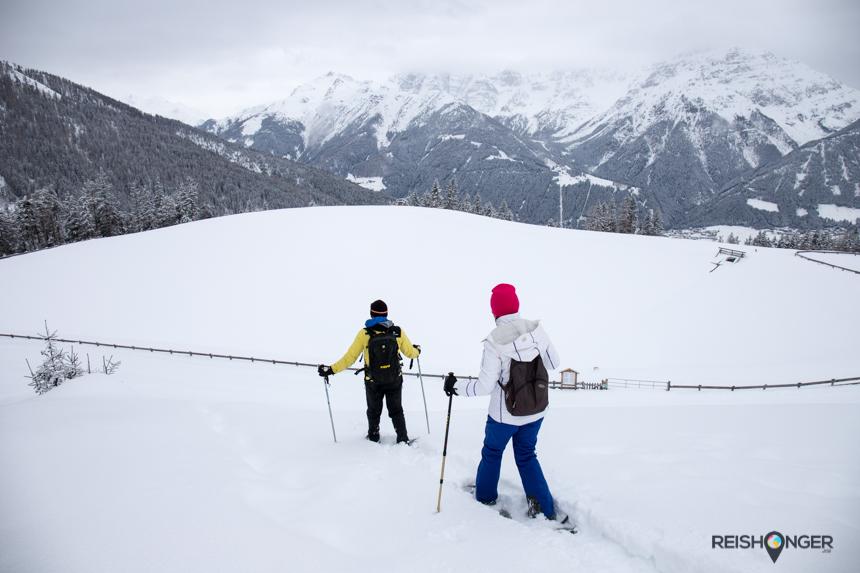 Met sneeuwschoenen kom je op anders onbereikbare plekken