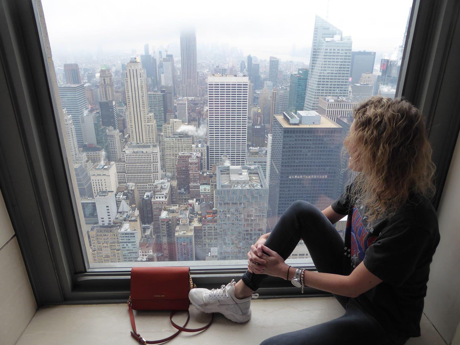 eerste keer New York