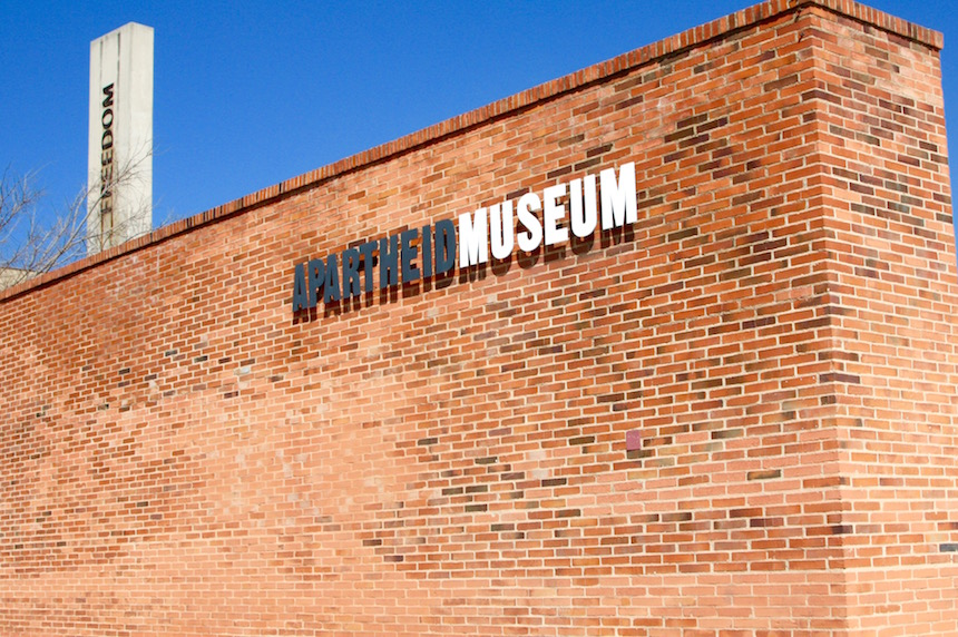 Het Apartheidmuseum in Johannesburg