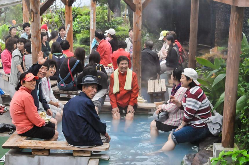 De Hellen in Beppu in Japan