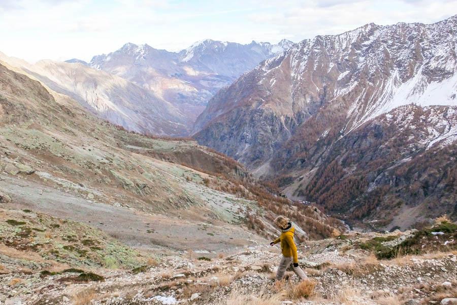 Afdaling Mont Pelvoux