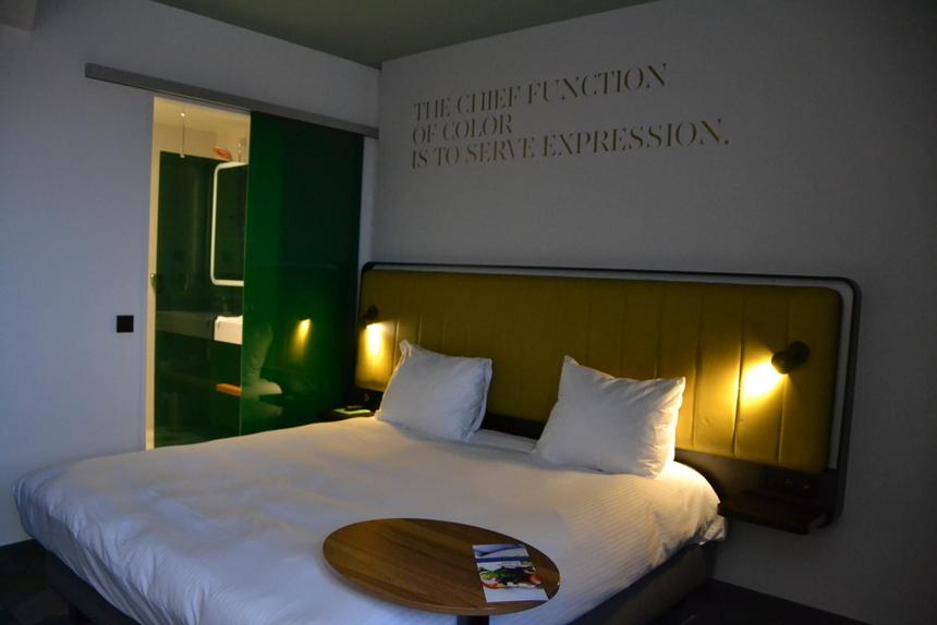 Mijn frisse kamer in het Hasseltse Park Inn by Radisson