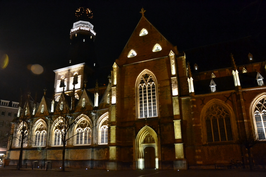 De Sint-Quintinuskathedraal in het centrum van Hasselt