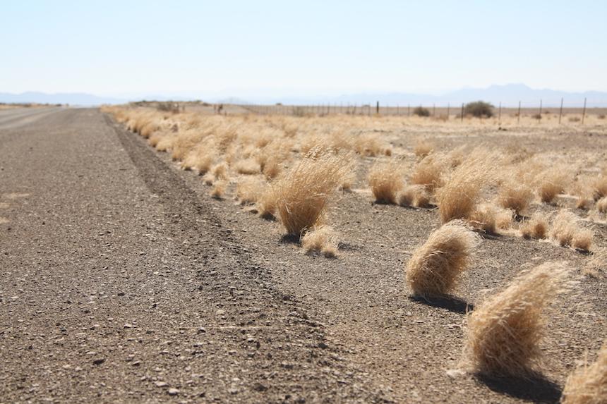 Rijden in Namibië