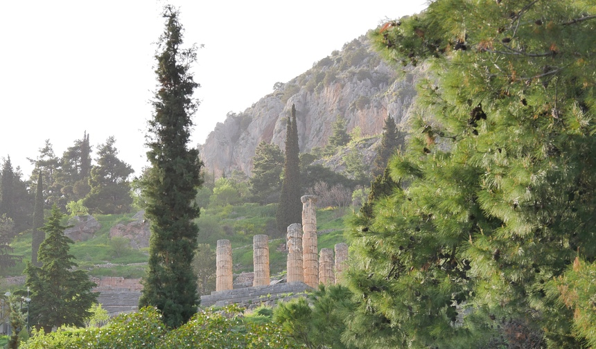 Het orakel van Delphi gaf antwoord op elke vraag.