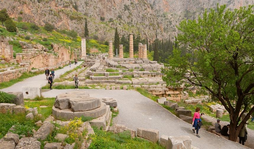 Delphi is meer dan historie: je kunt hier ook sportief bezig zijn.