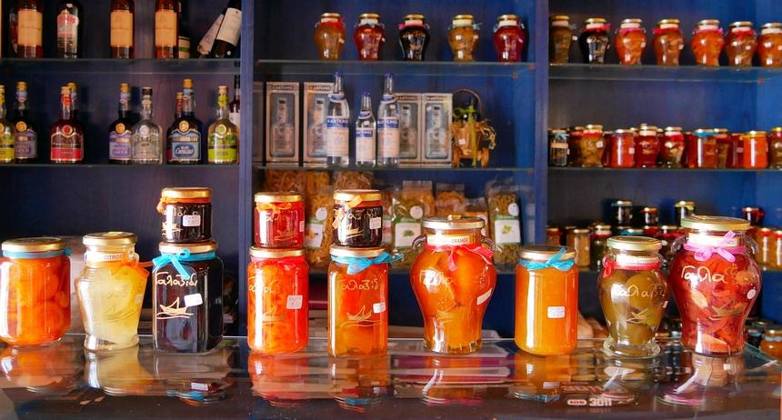 Grieken zijn liefhebbers van zoet - in alle soorten en maten.