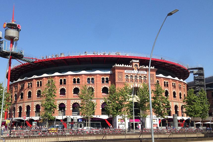 Winkelcentrum Arenas de Barcelona op Plaça d'Espanya
