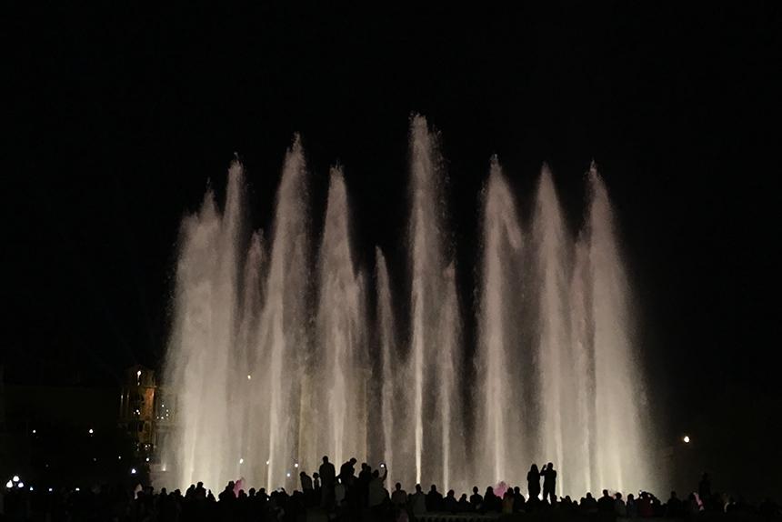 Font Màgica lichtshow in Barcelona
