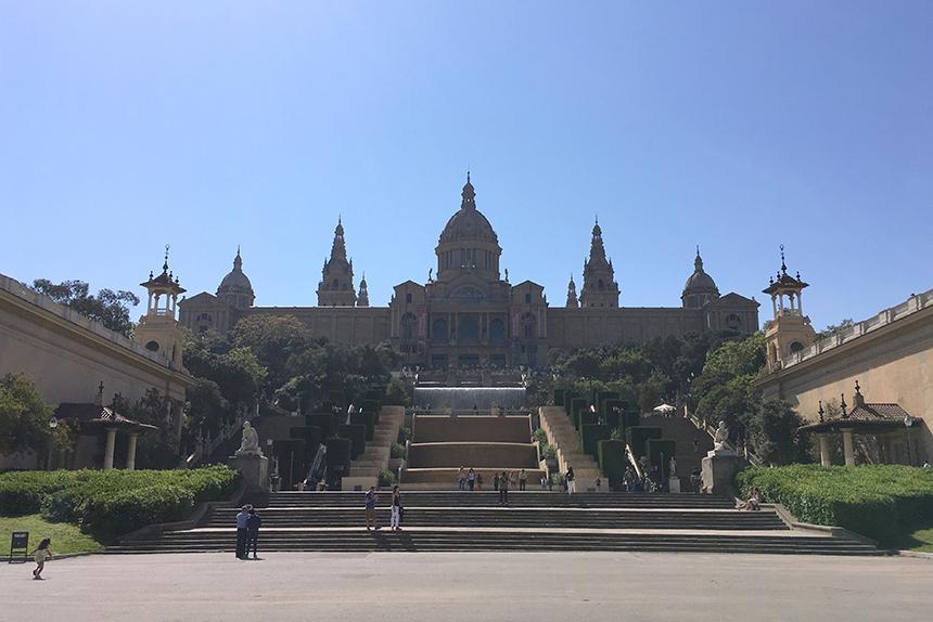 Montjuïc in Barcelona