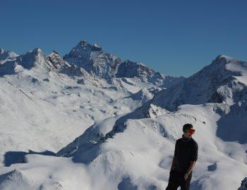 Het uitgestrekte skigebied van Montgenèvre!