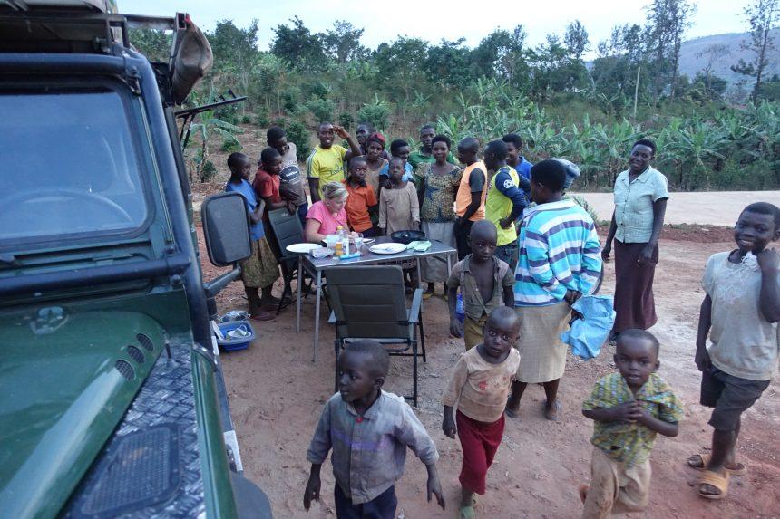 In Rwanda ben je als toerist de attractie