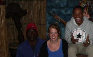 Lebo is de eigenaar van hostel Lebo Soweto Backpackers