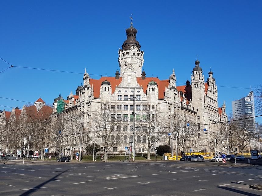 Nieuw stadshuis uit begin 20ste eeuw