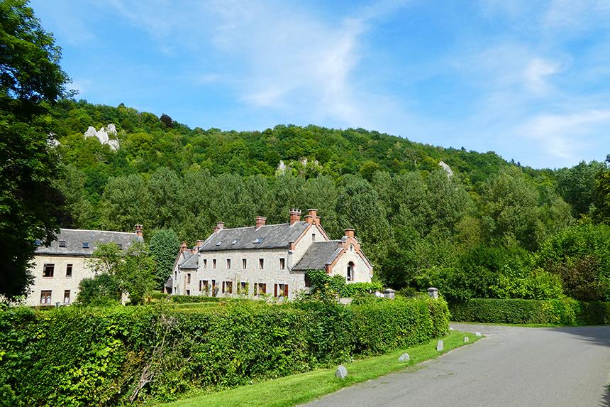 Prachtige kasteelboerderij in de Ardennen.