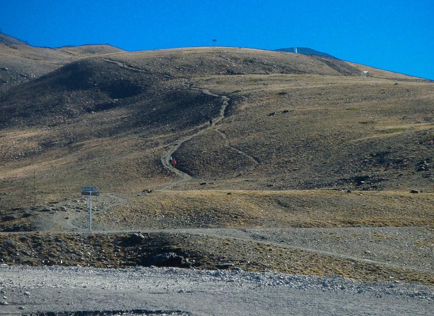 Op weg naar Mount Mulhacén