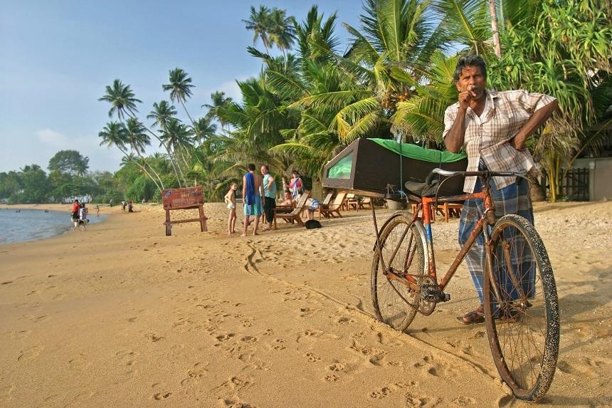 Sri Lanka met kinderen - Beruwela