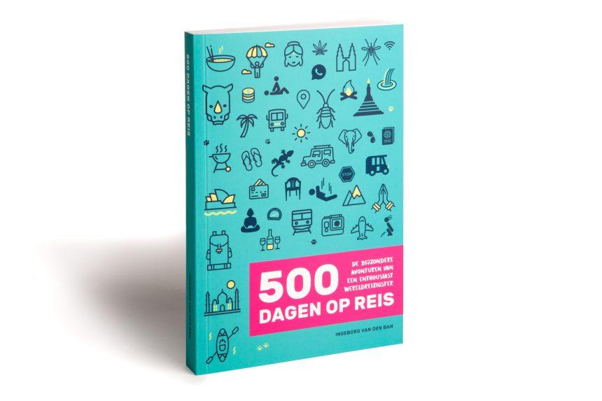 Boek 500 Dagen op reis van Ingeborg van den Ban