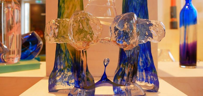 Glaskunst uit Kosta Boda is wereldberoemd.