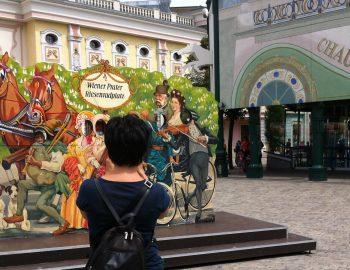 Het Prater in Wenen
