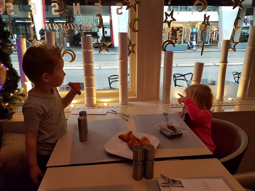 Inclusief ontbijtbuffet in het Senses Restaurant Amsterdam Centrum